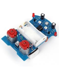Monday Kids D2-5 Intelligent Tracking Line Car DIY Kit TT Motor Electronic DIY Kit Assembly Smart Patrol Automobile Parts DIY Electronic