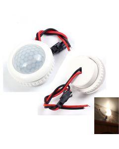 Monday Kids 220V 50HZ PIR IR Infrared Human Induction Lamp Switch Sensor Light Control Ceiling Light Motion Sensor On Off 3-6m Sensing