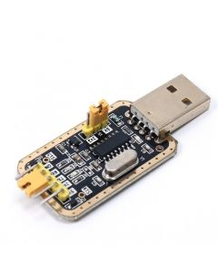 Monday Kids CH340G RS232 Update USB To TTL Converter Module UART Serial Port UFS-HWK STC Dowanloader Programmer Brush Small Plates