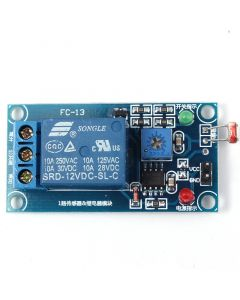 Monday Kids 12V Photoresistor Sensor Module Light Control Switch Relay Module Sensor Light Detection
