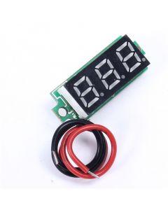 Monday Kids 0.28 Inch Red Digital Display Thermometer Temperature Meter Detector Module With NTC Metal Waterproof Probe Temperature Sensor