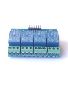 Monday Kids 4 Channel Relay Module 12V 10A Optocoupler Isolated Relay Module