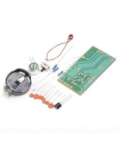 Monday Kids 3pcs FM Frequency Modulation Wireless Microphone Module DIY Kit FM Transmitter Board Parts Simple Electronic Production Suite