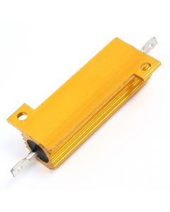 Monday Kids RX24 1R 1 Ohm 50W Aluminum High Power Resistor Metal Shell Case Heatsink Resistance Resistor