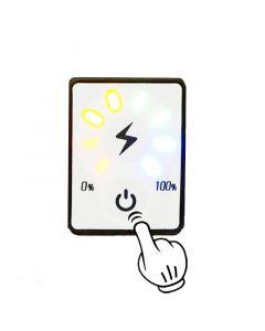 Monday Kids 7S 24V Lithium Battery Capacity Indicator Module LED Digital Display Touch Battery Power Detection Meter Tester Li-po Li-ion