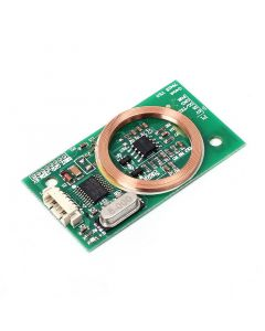 Monday Kids RFID Reader Wireless Module UART 3Pin 125KHz Card Reading EM4100 8CM DC 5V for IC Card PCB Attenna Sensor Kits Arduino