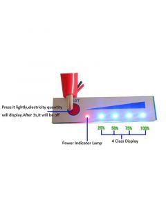 Monday Kids Non-Waterproof 4S Lithium Battery Capacity Indicator 16.8V Battery Power Display Board Tester Li-po Li-ion Pack LED 3 Cells