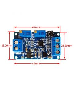 Monday Kids 4-20mA to 0-3.3V/5V/10V Current to Voltage Converter Signal Conversion Module I/V Transmitter