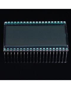 Monday Kids Semitransparent 5V 3.5 Digit Segment EDS803 LCD Display Screen TN Type Static Driving 50.8x30.48x2.8mm