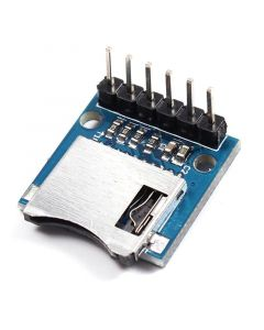 Monday Kids 10pcs/lot Mini Miniture SD Card Module Micro Memory Module For Arduino AVR ARM