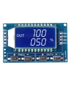 Monday Kids 5pcs/lot Signal Generator PWM Pulse Frequency Duty Cycle Adjustable Module LCD Display 1Hz-150Khz 3.3V-30V PWM Board Module
