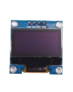 "Monday Kids 0.96"" inch Blue OLED Display Module IIC Serial 128X64 I2C SSD1306 12864 LCD Screen Board GND VCC SCL SDA for Arduino"