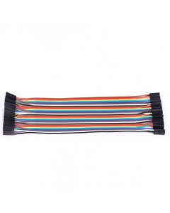 Monday Kids 40pcs/lot 40P Dupont Wire 20cm Jumper Dupont Cable Line 1p-1p Pin Connector Female to Female