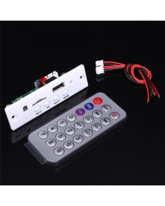 Monday Kids Mini 5V White MP3 Decoder Board Call Decoding Module MP3 WAV U-Disk & TF Card USB With 2*3W Stereo Amplifier