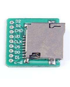 Monday Kids TF Card Micro SD Card Adapter Board Memory Card Interface Pinboard Module 20x20mm 2mm Ultra-small