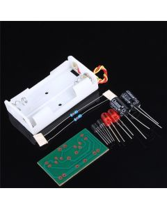 Monday Kids DIY Electronic Flash Elektronik Devreler Multivibrator LED Flashing Circuit Suite Electronic DIY Kit Teaching Training IC Parts