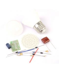 Monday Kids 2pcs 60 LEDs Energy-Saving Lamps DIY Kits Electronic Kit Electronin Fun Suite
