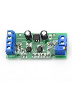Monday Kids Frequency Voltage Converter 0-10KHz to 0-10V Digital to Analog Voltage Signal F/V Converter Module with Power LED