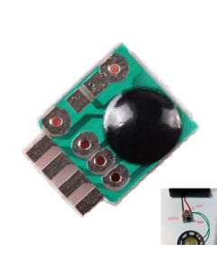 Monday Kids 10pcs Siren Music Integration Module 3V Alarm Voice Sound Chip Module Police Music for DIY/Toy