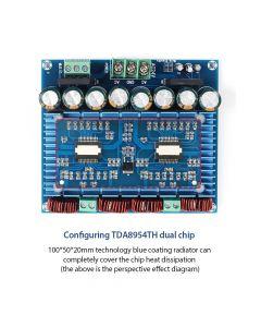 Monday Kids Ultra High Power Digital Amplifier Module AC 24V Stereo TDA8954TH Dual Chip 2x420W XH-M252 Digital Power Amplifier Board