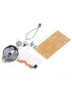 Monday Kids 2pcs FM Frequency Modulation Wireless Microphone Module DIY Kit FM Transmitter Board Parts Simple Electronic Production Suite