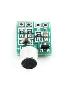 Monday Kids Mini Microphone Audio Amplifier Module Speaker Circuit Board DC 2.5-9V 14x12mm Mic Accessories