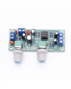 Monday Kids Bass Subwoofer Preamp Board Low-Pass Filter Plate 2.1 3-Channel DC 10-24V 22Hz-300Hz