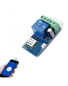 Monday Kids DC 12V Wireless Wifi Relay Switch Module Mobile Phone Remote Control Timer Self-Lock Low Power For Android IOS Smart Home