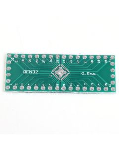 Monday Kids 30pcs/lot QFN32 QFN40 to DIP32 DIP40 Pinboard SMD To DIP Adapter 0.5mm to 2.54mm DIP Pin Pitch PCB Board Converter Module