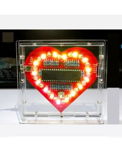 Mondaykids Love Heart Chasing Effect LED Lights DIY Kits