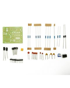 Monday Kids DIY Kits NE555 Sine Triangle Square Waveform Generator Suite and Astable Multivibrator