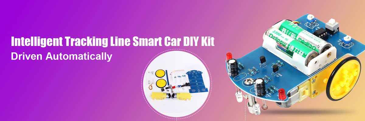 Monday Kids INTELLIGENT TRACKING LINE SMART CAR