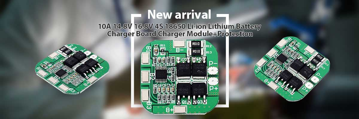 Monday Kids 18650 LI-ION LITHIUM BATTERY CHARGER BOARD